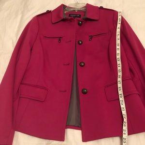 Jones New York jacket fuschia